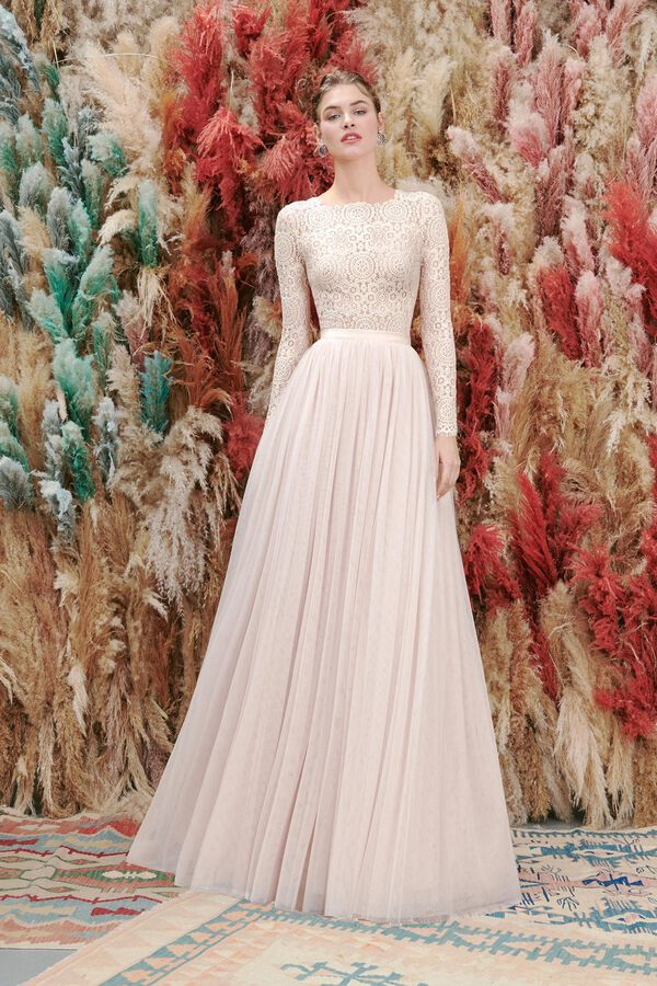 Tutina in Pizzo e Gonna in Tulle
