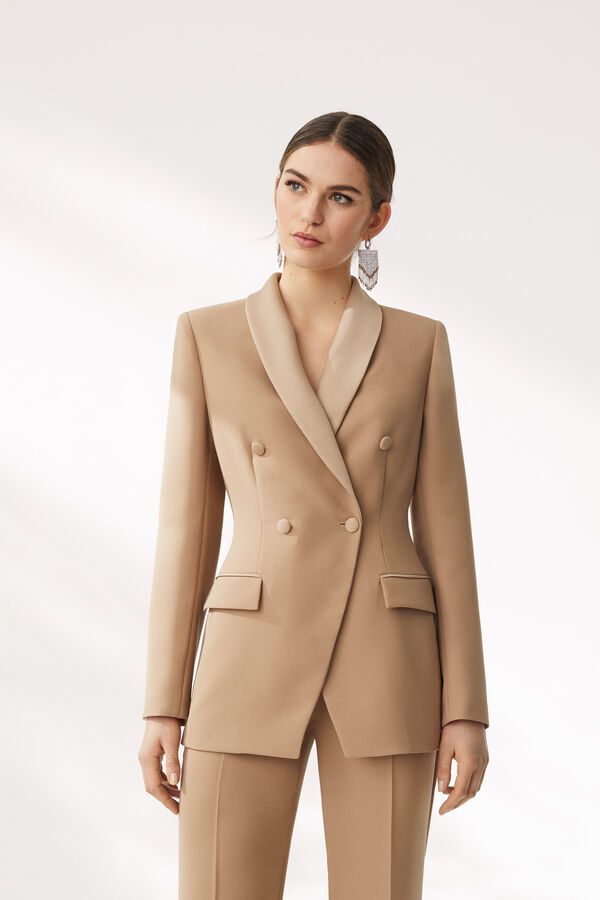 Tailored Double-Breasted Jacket