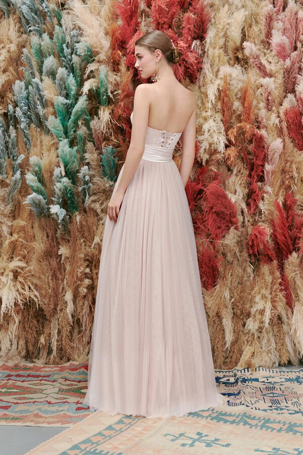 Ebroidered Corset and Tulle Skirt