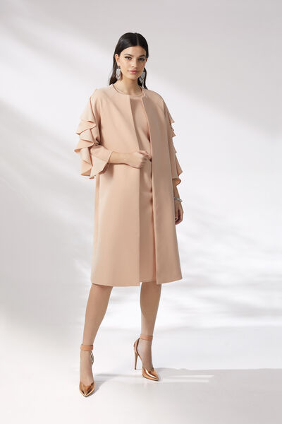 Dress Suit with Ruching