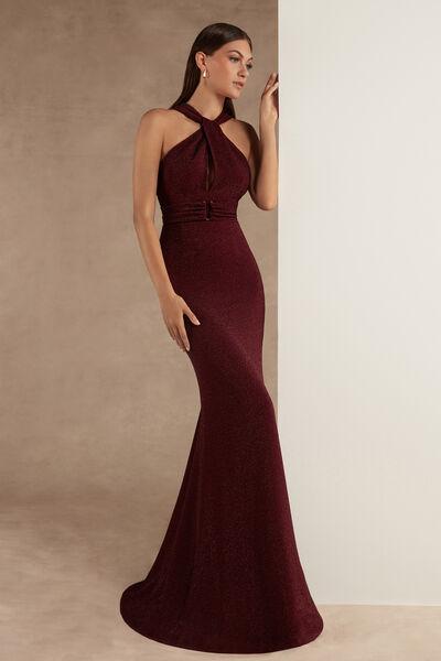 Lamé Jersey Dress - Party