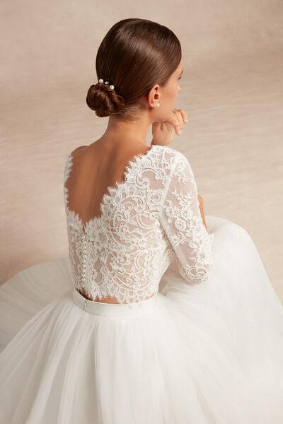 Floral Lace Bolero - Bridal