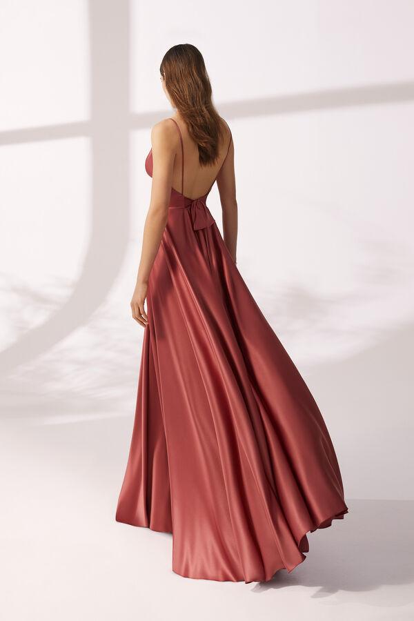 Fluid Satin Dress