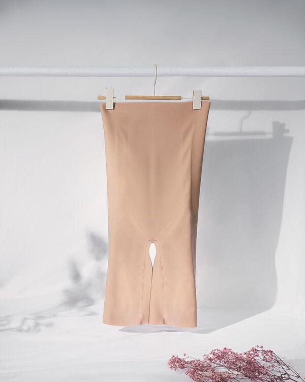 High Raw-Cut Microfibre Shorts