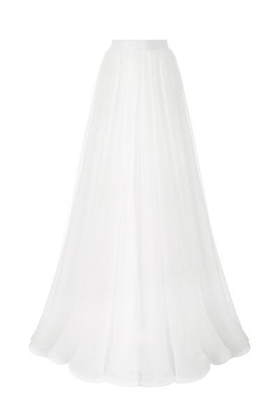 Chiffon wheel skirt - Bridal