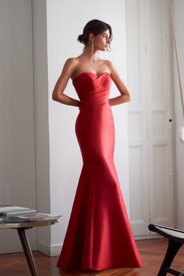 Mikado Sculpture Dress
