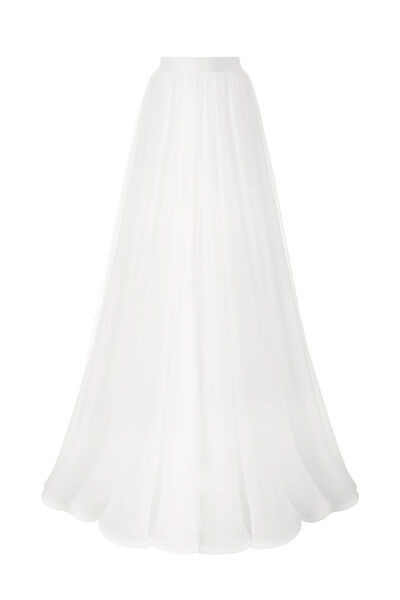 Chiffon wheel skirt
