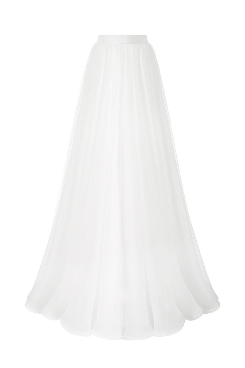 Chiffon wheel skirt