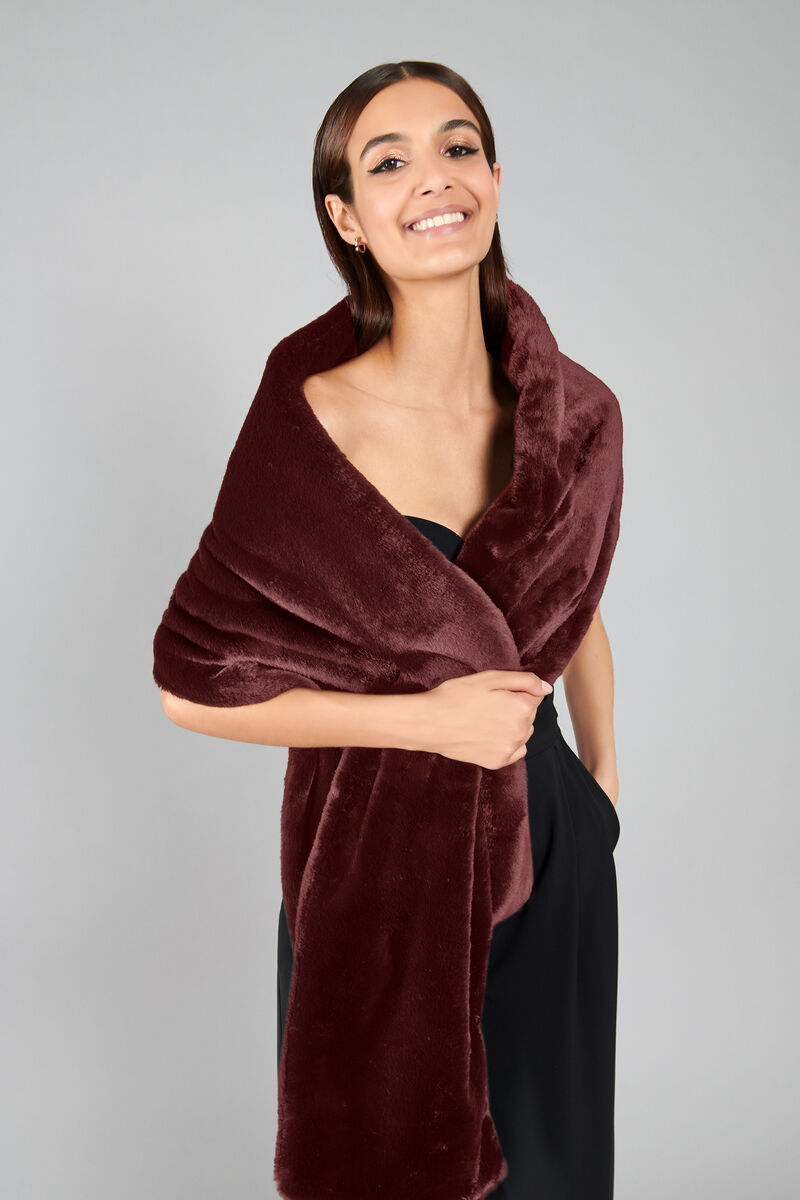Stole in Eco-Fur