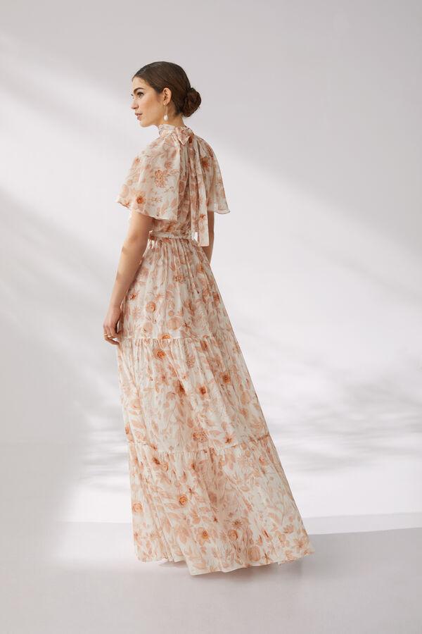 Long Cotton Muslin Dress