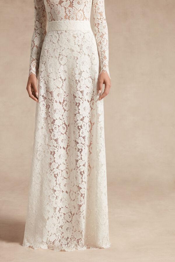 Rebrodé Lace Skirt