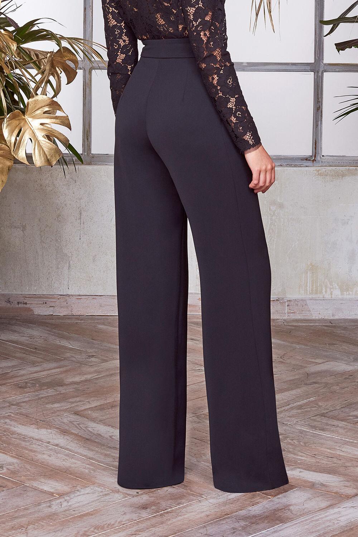 Pantalone in Crêpe Couture