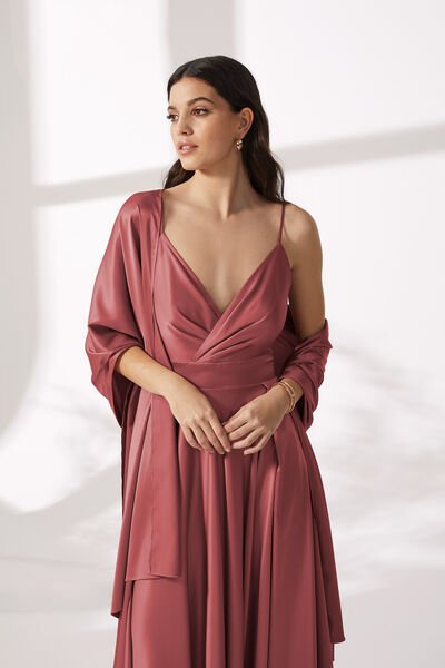 Stola in Bright Satin