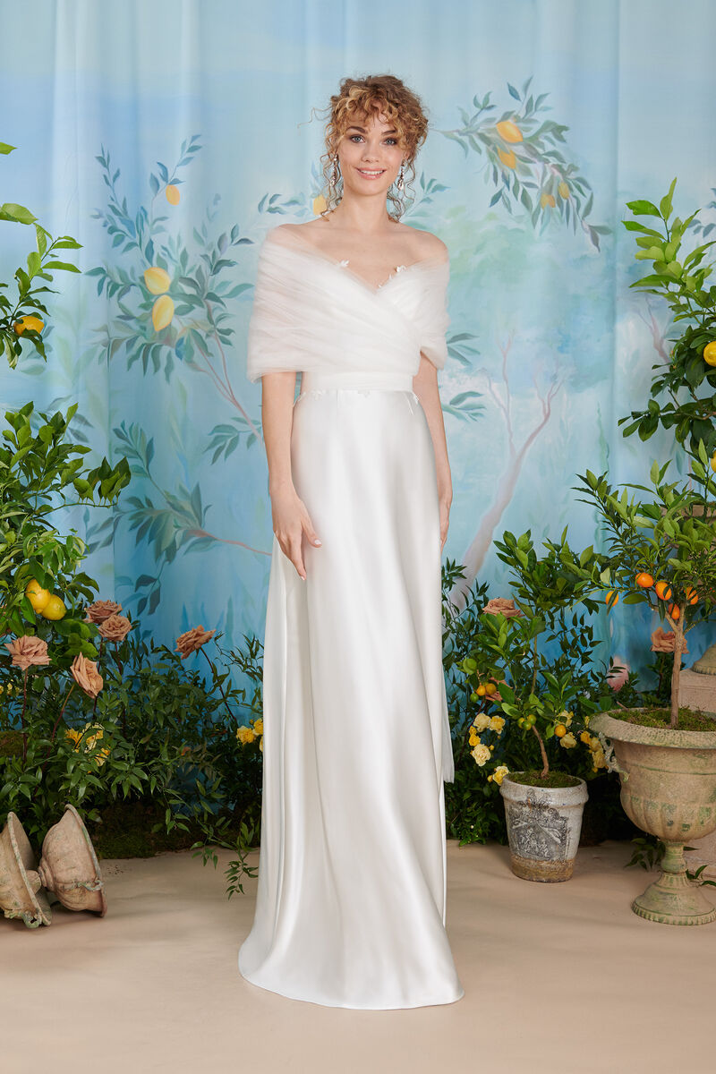 Humeral collar in soft tulle