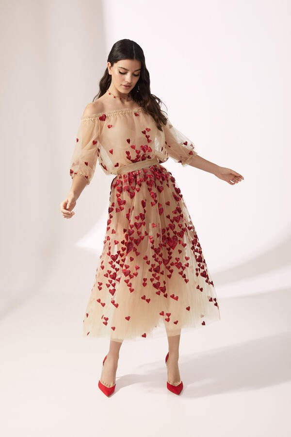 Body in Tulle with Skirt in Tulle