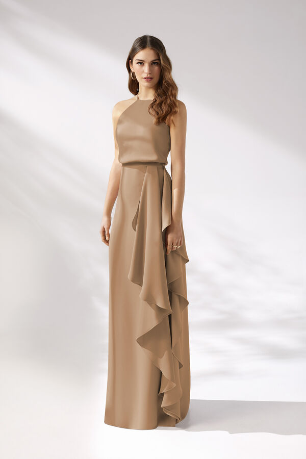 Long Halterneck Dress