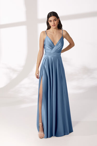Fluid Satin Dress