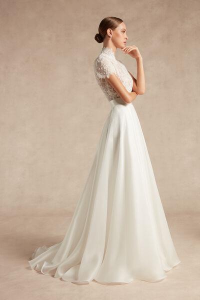 Silk Organza Skirt - Bridal