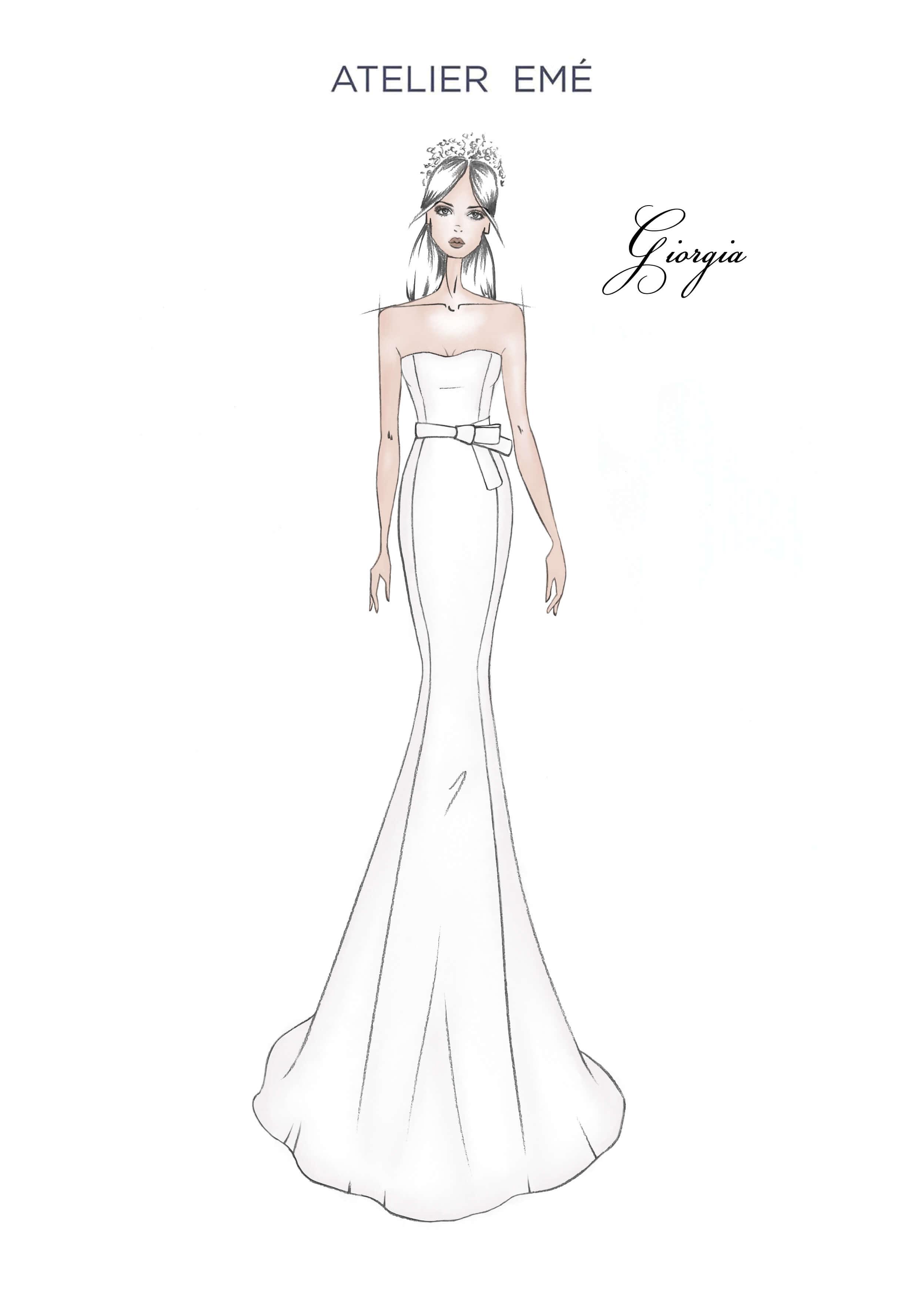Abito da sposa Giorgia - Smile neckline - Collezione 2022