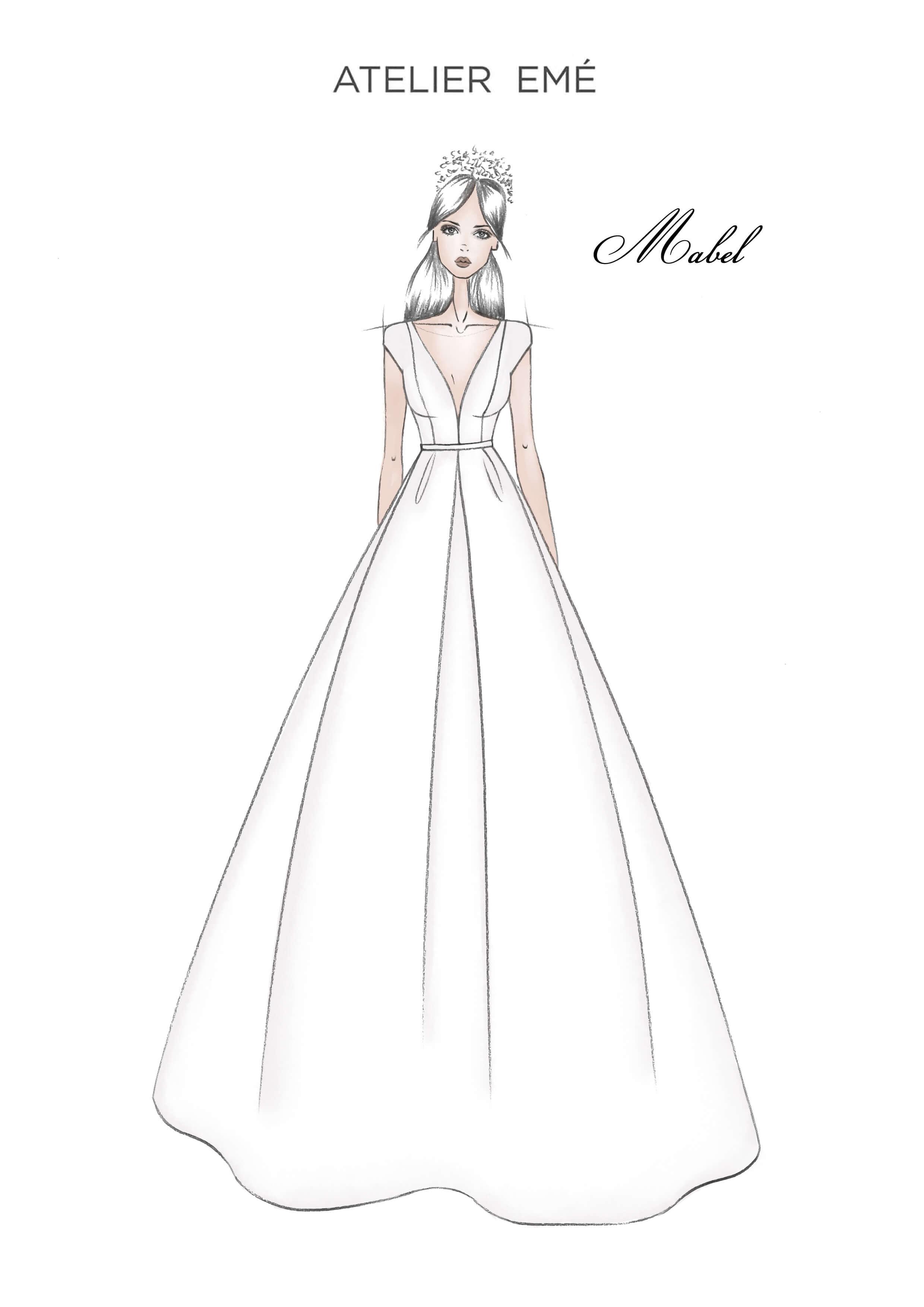 Abito da sposa Mabel - Short sleeves - Collezione 2022